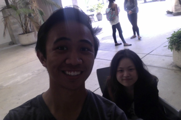 Week 9: My New Friend Weifan (XUE)! :)